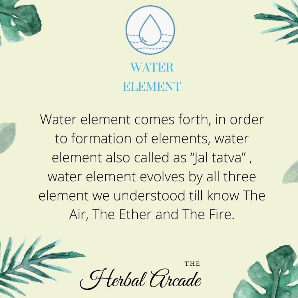 Water Element HERBAL ARCADE